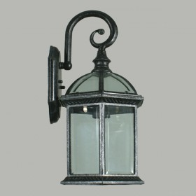 Station Outdoor Wall Light - Antique Black