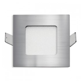 Stow Square LED Wall Light - Silver