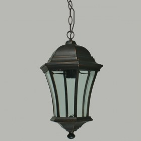 Strand Medium Chain Pendant Light - Antique Bronze
