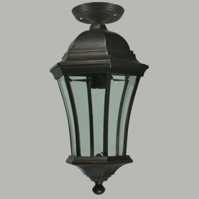 Strand Outdoor Medium Under Eave Light - Antique Bronze