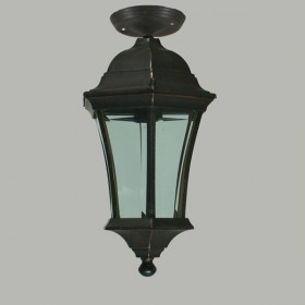 Strand Outdoor Small Under Eave Light - Antique Bronze