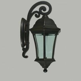 Strand Outdoor Small Wall Light - Antique Bronze