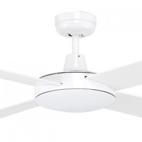 "Tempest 52"" AC Timber 4Blade Ceiling Fan - White"