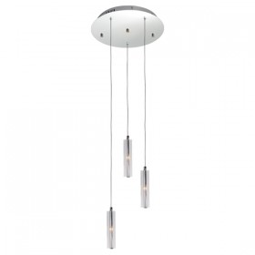Tina 3 Round Light Pendant - Clear