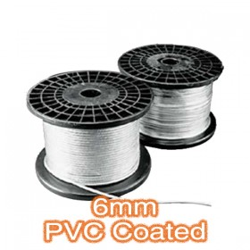 6mm PVC Coated Cable - Trapeze Lighting