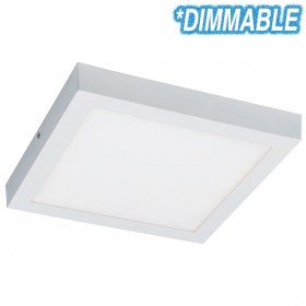 Unos 24w Dimmable LED Oyster Light - Square