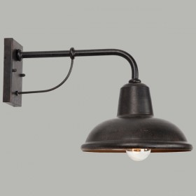Urban Outdoor Wall Light - Antique Bronze