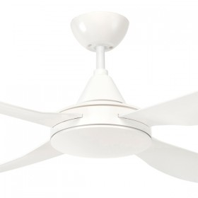 "Vector 48"" AC ABS 4Blade Ceiling Fan - White"