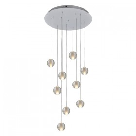 Venice 9 Light Pendant - Bubbles