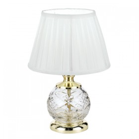 Vivian Crystal Table Lamp - Gold