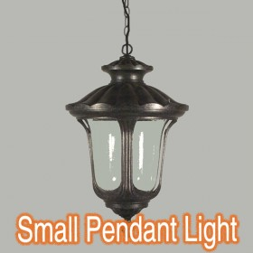 Waterford Small Chain Pendant Light - Antique Black