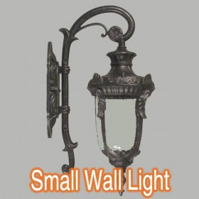 Wellington Small Outdoor Wall Light - Antique Black