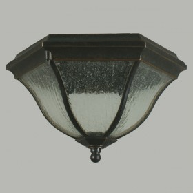 Wickham Outdoor Under Eave Light - Antique Bronze