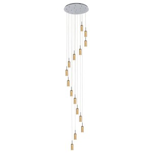 Large Foyer Lighting Modern Glass Pendant Ceiling Light