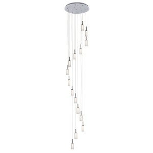 Modern Crystal Chandelier Light Glass Pendant Lighting