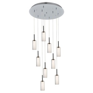 Modern Ceiling Light Cluster Glass Pendant Lighting