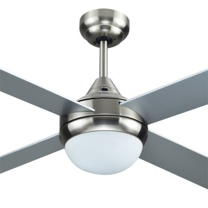 """Azure 48"""" with Light AC Timber Ceiling Fans Brushed Nickel Hunter Pacific"""