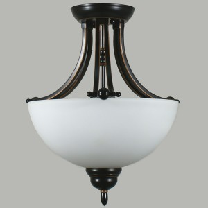 Houston Bronze Flush Lighting Ceiling Lights Traditional Lode International