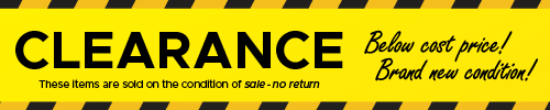 Sale Item - Below Cost