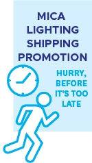 Free Shipping Promotion @ MICA Lighting