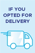 Delivery Options @ MICA Lighting