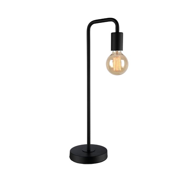 Black Desk Lamps Industrial Metal Bulbs, Black Metal Desk Lamps