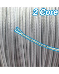 Inner & Outer PVC Cord Cable 2 Core 12v
