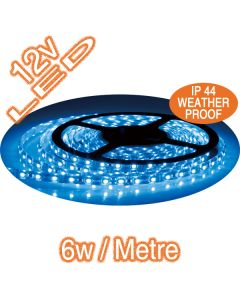Blue Colour LED Strip Lighting Weatherproof Flexible Lights