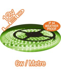 Green LED Flexible Strip Lights Lighting Weatherproof Outdoor