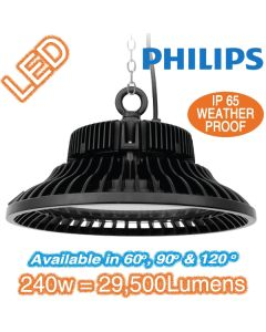 Commercial Factory Lighting UFO 240w LED High Bay Lights HiBay