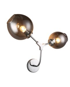 Cheap Designer Wall Sconce Lights Chrome Branching Bubbles Lighting