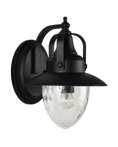 Industrial Lighting Exterior Alaska Wall Lights Matte Black Outdoor IP44