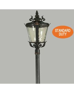 Albany Outdoor Post Lights Driveway Exterior Lighting Lode International