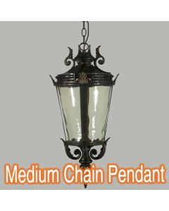 Albany Chain Lighting Traditional Large Pendants Lights Antique Bronze