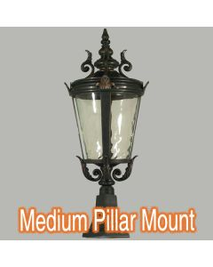 Driveway Pillar Mounted Lighting Albany Lode International Lights