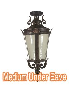 Large Outdoor Under Eave Lighting Patio Traditional Exterior Lights