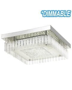 Andela 30w Square LED Oyster Lights Dimmable Ceiling Lighting