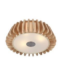 Blade Timber Ceiling Lights Beachy Flush Melbourne Lighting CTC Wooden Modern