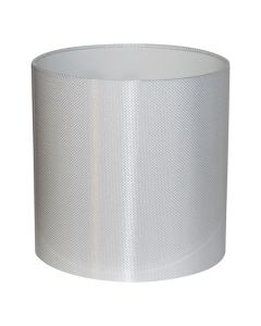 Carbon 45 Large Fabric Lamps Shade White