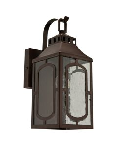 Traditional Lighting Exterior Casta Wall Lights Brown Outdoor