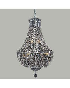 Chandelier Crystal Basket Lighting Classical Classique Lights Pendants Ceiling