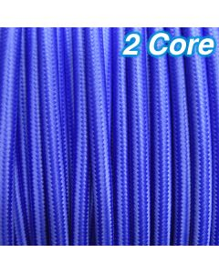 Cheap Pendants Lights Cloth Cables Blue Fabric Cords 2 Core Lighting 240v