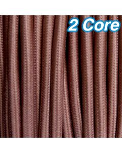 Cheap Lighting Cables Pendants Cocoa Fabric Cloth 2 Core 240v