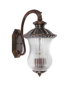 Dorit Traditional Wall Lights Copper Bronze IP44 Outdoor Lighting Exterior Period