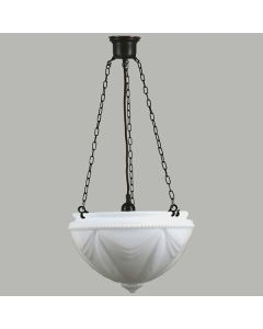 Patina Black Empire 3 Chain Pendants Suspensions Lode Lighting Traditional Period Lights