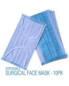 Disposable Face Mask 10Pack