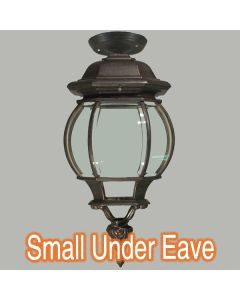 Flinders Bronze Small Under Eave Lighting Traditional Period Exterior Lights