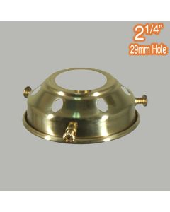 2.25 inch Gallery Lights Polished Brass Traditional Period Lighting