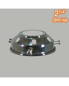 Period Lighting Components 2.25 inch Gallery Chrome Traditional Spare Parts