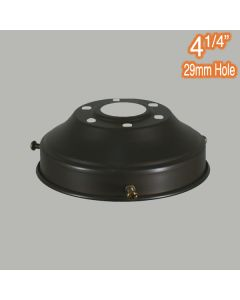 Patina Black Spare Parts 4.25 inch Gallery Traditional Period Lighting Components
